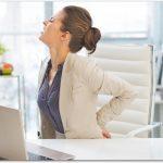 座り仕事で腰痛に!体の歪みも原因?有効な対処方法は?